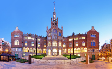 Hospital of the Holy Cross and Saint Paul, (Hospital de la Santa Creu i de Sant Pau), Barcelona.