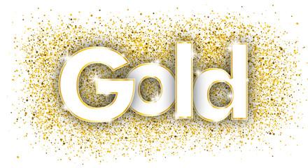 Gold Golden Confetti