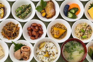 ごはんのおかず Side dishes of rice japanese food