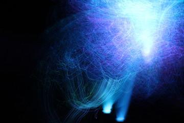 Abstrakte Lichter