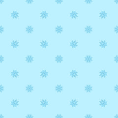 vector seamless background with snowflakes