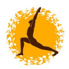 yogа - salutation sun, surya namaskar