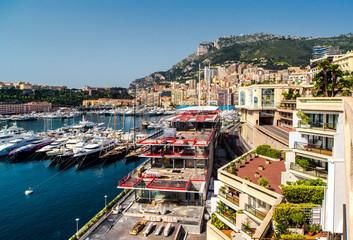 Principality of Monaco. Hercule port