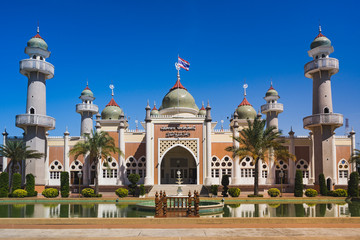 Central mosque of Pattani is the beautiful .religious place of Pattani, Thailand.