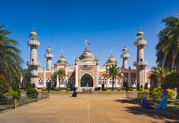 Central mosque of Pattani is the beautiful religious place of Pattani, Thailand.