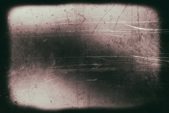 Grunge Dirty Surface of the Old Film.