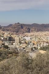 Wadi Musa, small town near Petra, Jordan