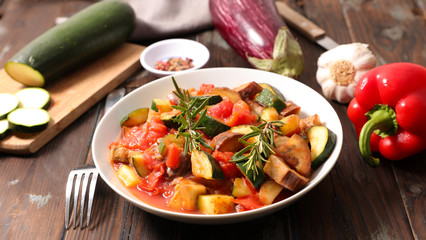 Wall Mural - ratatouille,healthy vegetarian meal