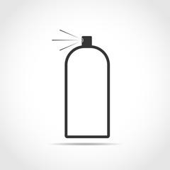 Spray icon. Vector illustration.