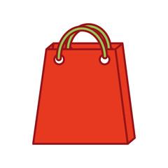 christmas paper bag gift shopping season