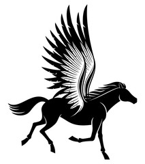 Sign of pegasus.