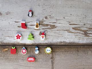 Christmas Tree on Wood