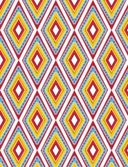 Aztec geometric pattern