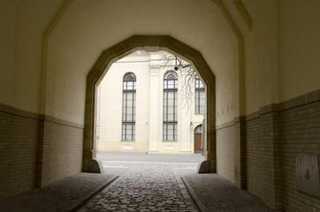 Poster Monument Synagoga Pod Białym Bocianem we Wrocławiu