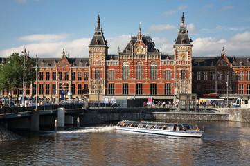 Amsterdam  Central Station. Netherlands