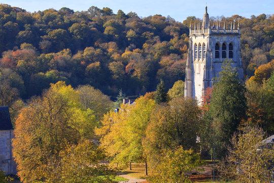 Abbaye Notre-Dame du Bec, tour Saint-Nicolas, Le Bec-Hellouin, Normandie