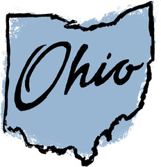 Hand Drawn Ohio State Design