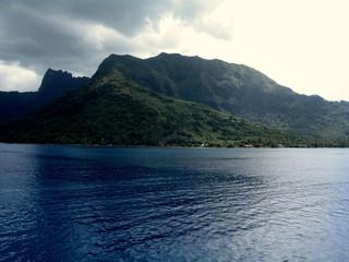 Isla de Tahiti. Oceano pacifico en Oceania