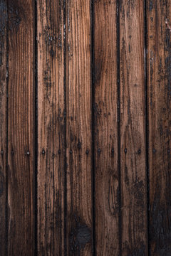 Wood texture background. Vertical wood planks