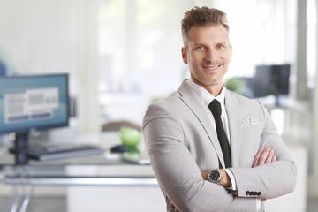 Confident professional man portrait