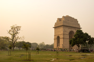 India Gate Sunset
