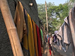 Wäscheleine Delhi