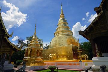 Wat Phra Singh Chiang Mai Buddha Thailand Temple Buddhism God