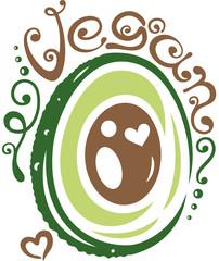 Avocado, vegane Ernährung, Gesundheit, Wellness.