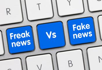 Freak news VS Fake news
