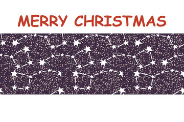 starry sky christmas