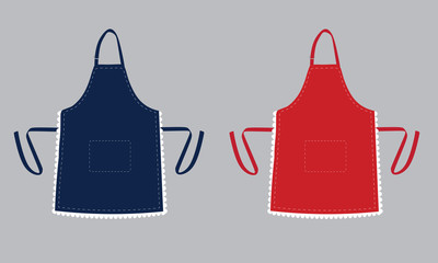 Two  kitchen aprons