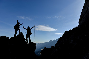 rock climbing and challenging challenging mountains