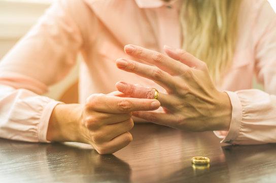 Ótimo conceito de divórcio