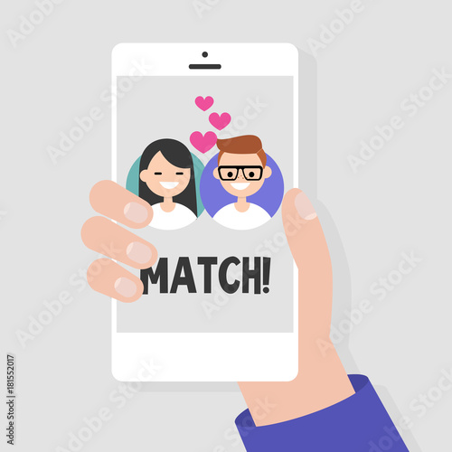 Mobile phone dating services