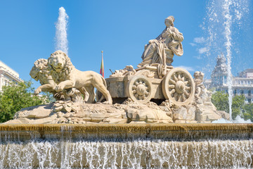 The Fountain of Cibeles, a symbol of Madrid