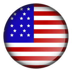 Button with flag