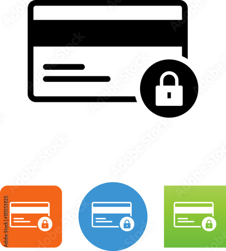 credit card fraud icon stock image and royalty free vector files on rh fotolia com credit card icons vector credit card logos vector free download