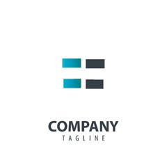 Initial Letter FF Design Logo