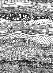 Vector pattern with zentangle background. Pattern for invitations, posters, antistress coloring. flayers, spa, Vector illustration.