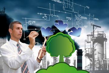 Ecological technology in manufacturing industry