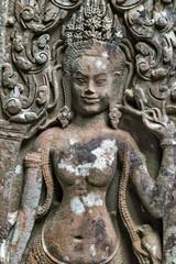 Angkor Dancing Apsara decoration, Cambodia
