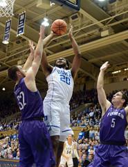 NCAA Basketball: Furman at Duke