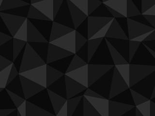 ポリゴン ブラック