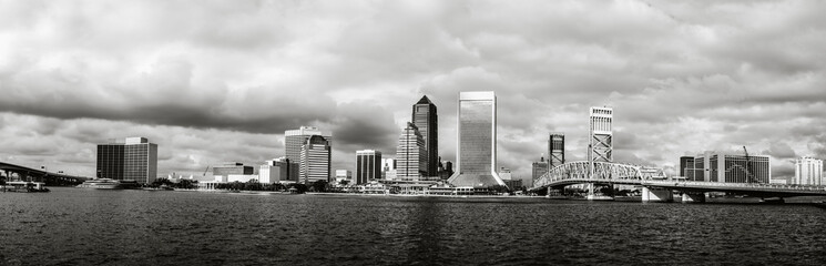 Jacksonville Skyline in Florida.