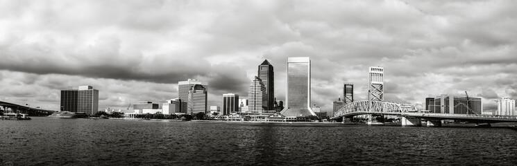 Jacksonville Skyline in Florida.