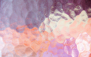 abstract pink glass texture background.