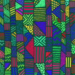 ZENTANGLE LINES COLOR BACKGROUND 14