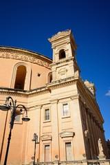 View of the Rotunda of Mosta, Malta.