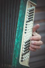 Grandpa plays the accordion