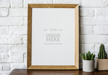 Design space photo frame Wall mural